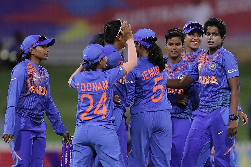 womens t20 world cup shafali verma after 34 ball 46 vs new zealand credits father