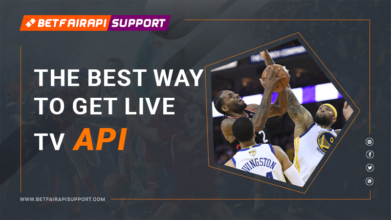 The best way to get live tv api