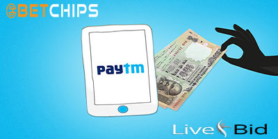 Betting site that using Paytm