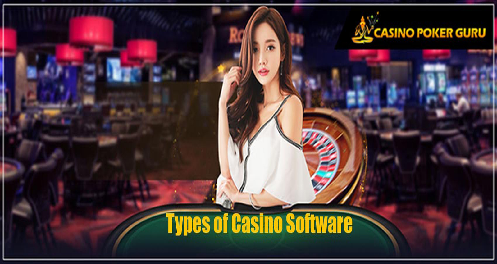 what are the different type of casino software ??