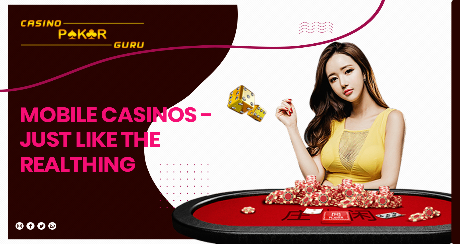 Mobile Casinos - Just Like The RealThing